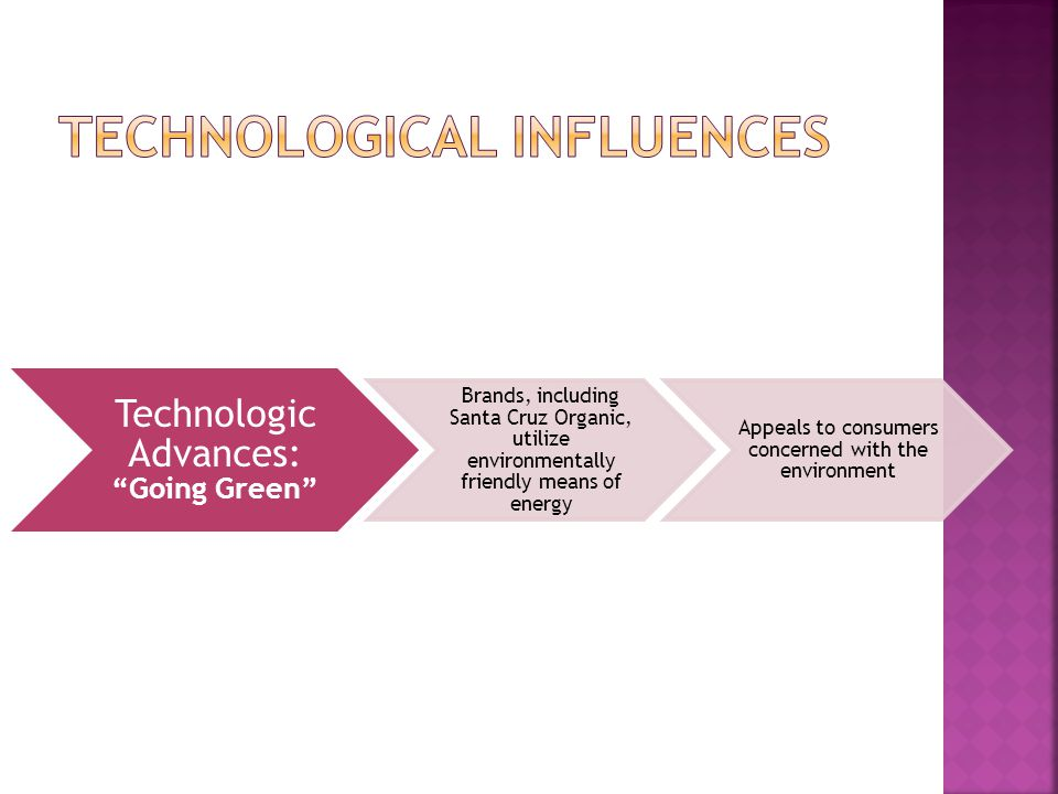 Technological influences