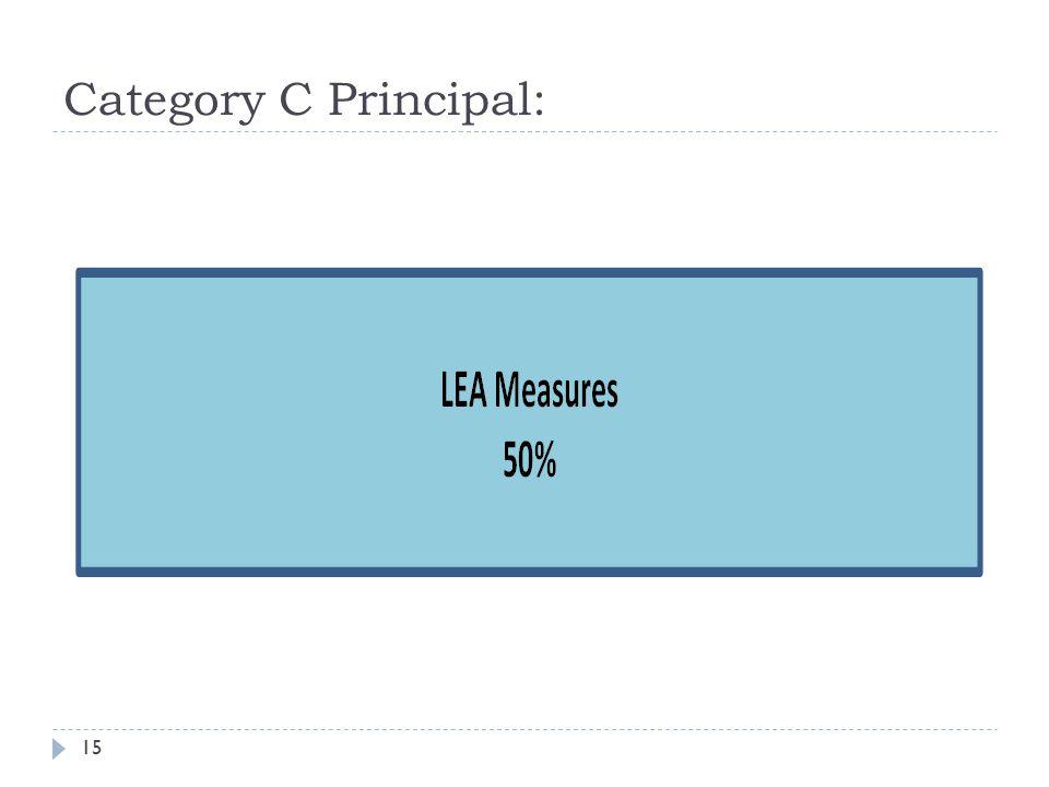 Category C Principal: