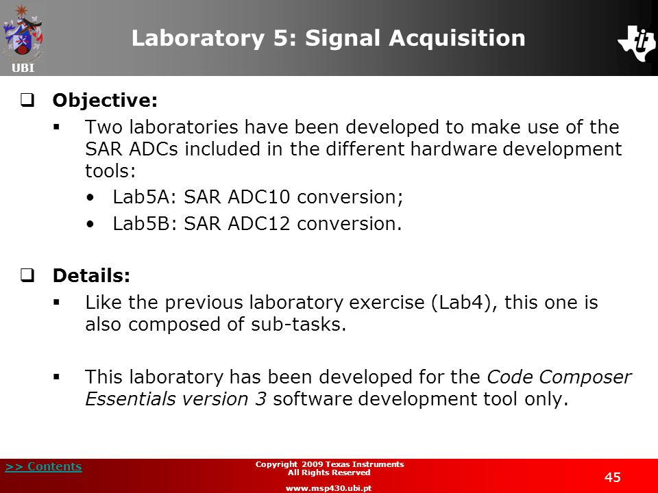 Laboratory 5: Signal Acquisition