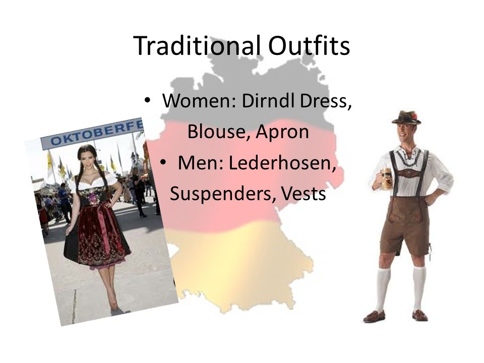 Traditional Outfits Women: Dirndl Dress, Blouse, Apron