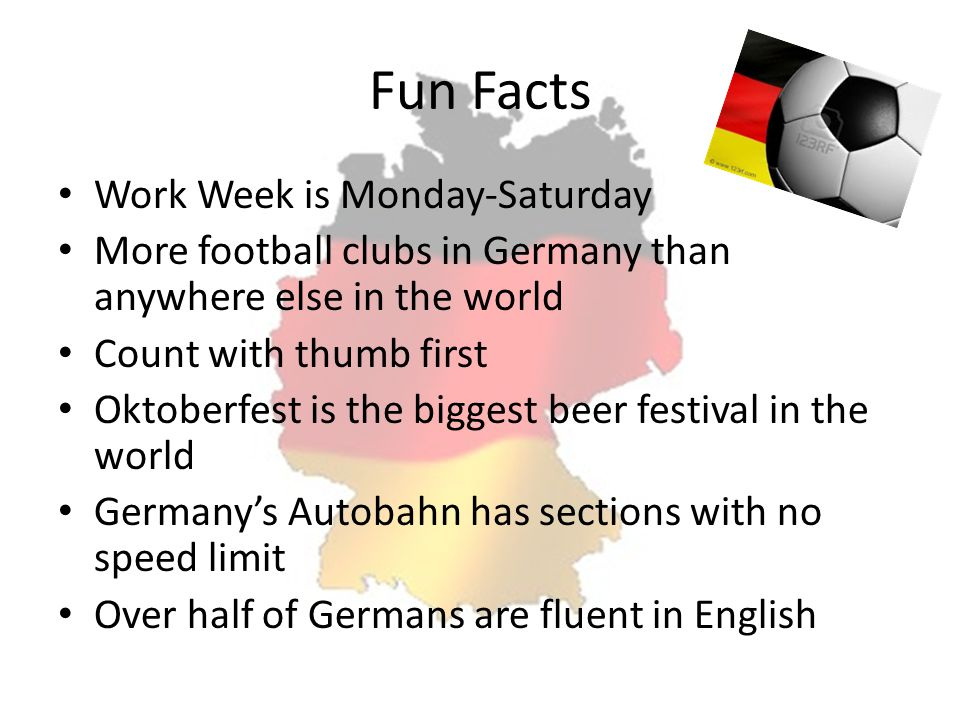 Fun Facts Work Week is Monday-Saturday