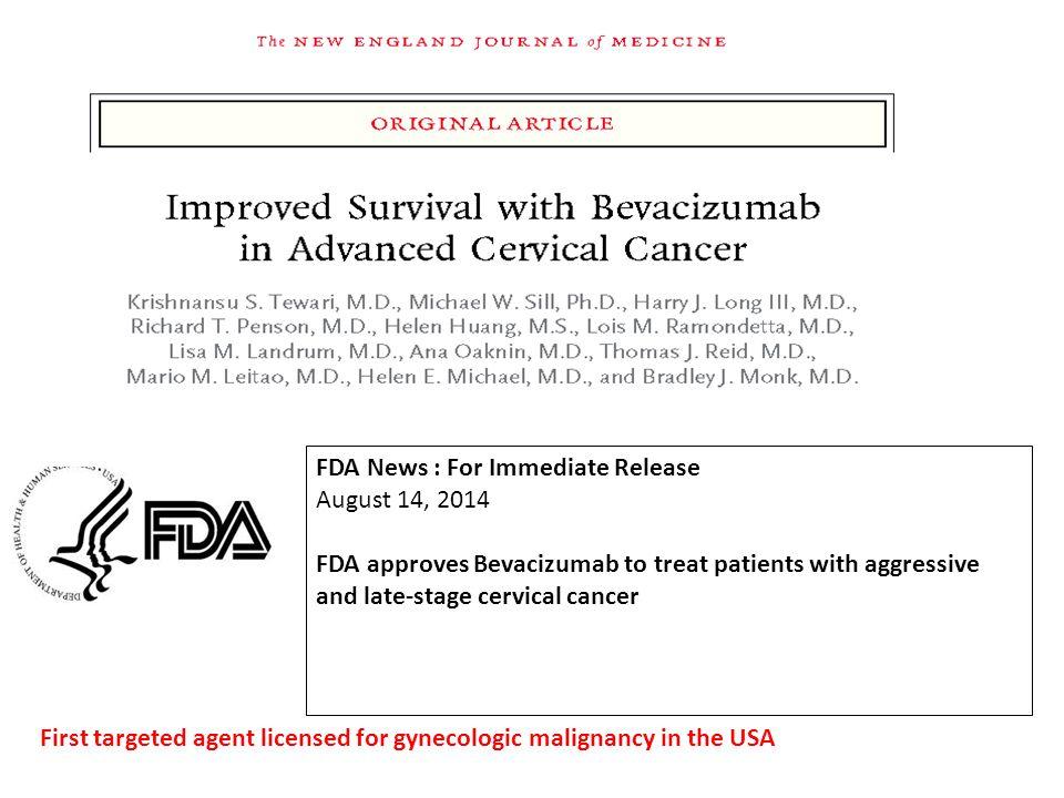 FDA News : For Immediate Release