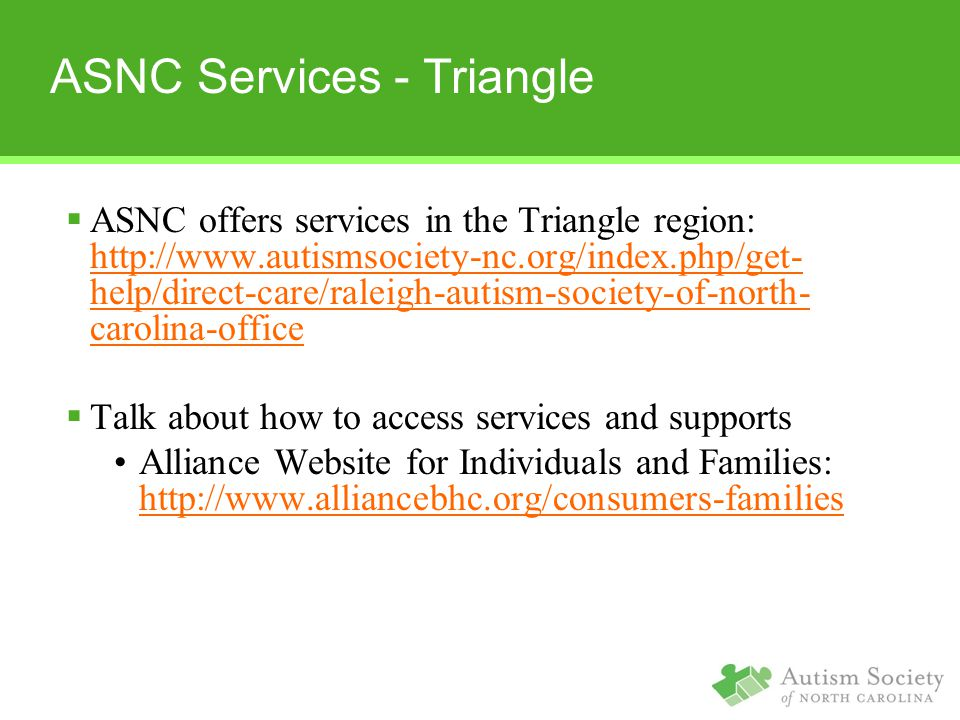 ASNC Services - Triangle