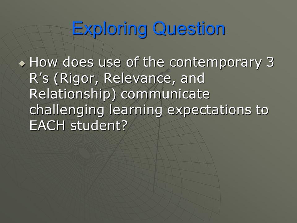 Exploring Question