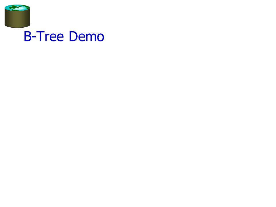 B-Tree Demo