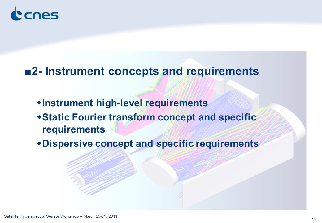 2- Instrument concepts and requirements