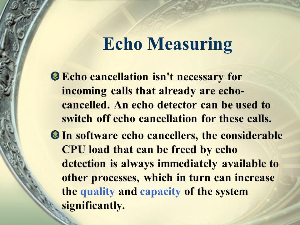 Echo Measuring