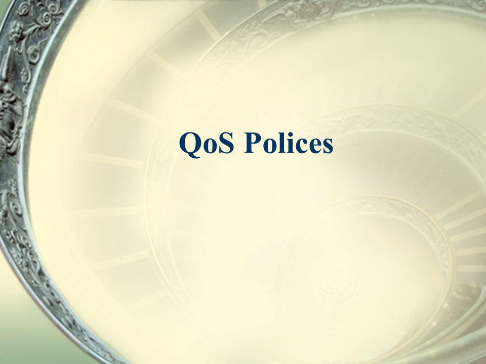 QoS Polices