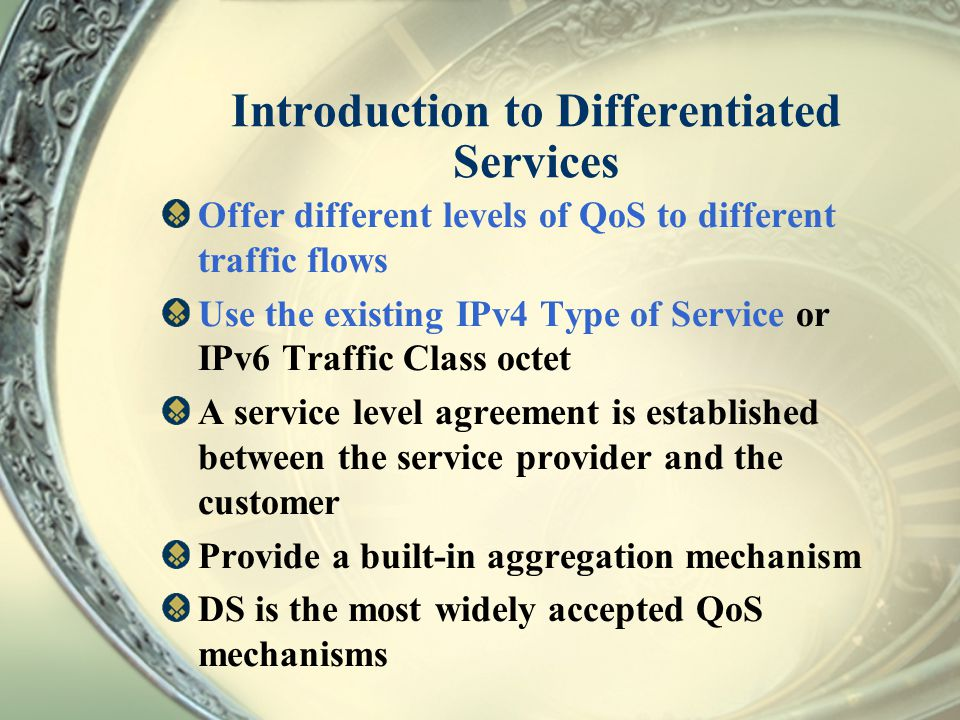 Introduction to Differentiated Services