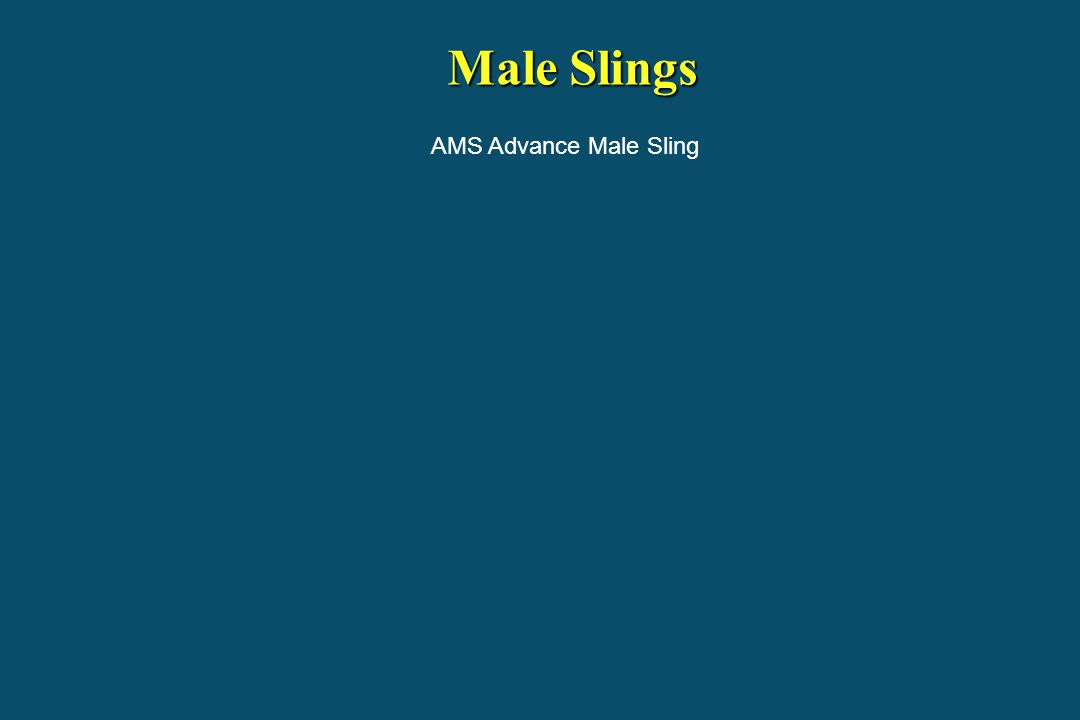 Male Slings AMS Advance Male Sling
