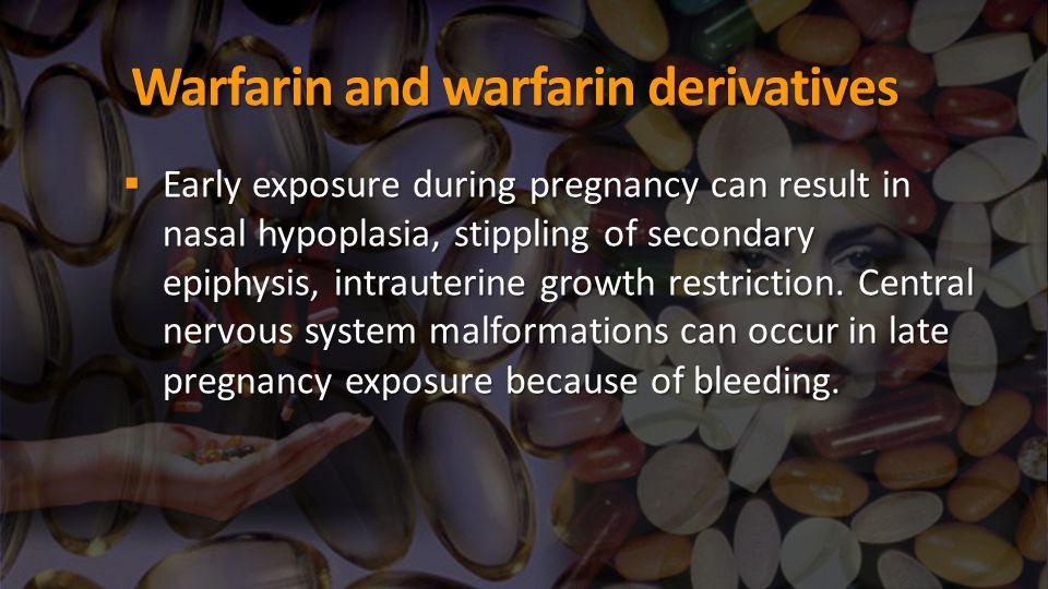 Warfarin and warfarin derivatives