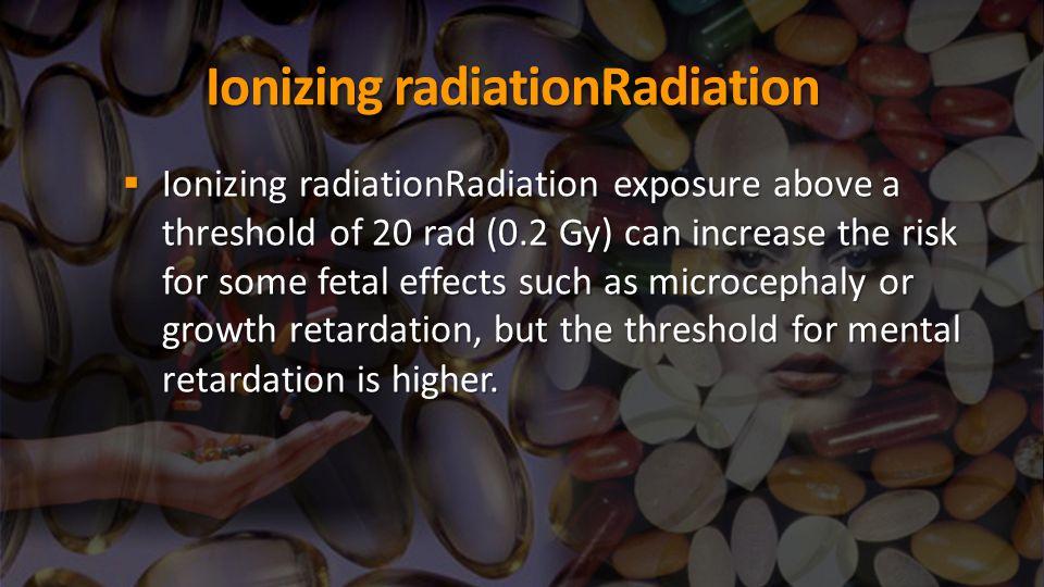 Ionizing radiationRadiation
