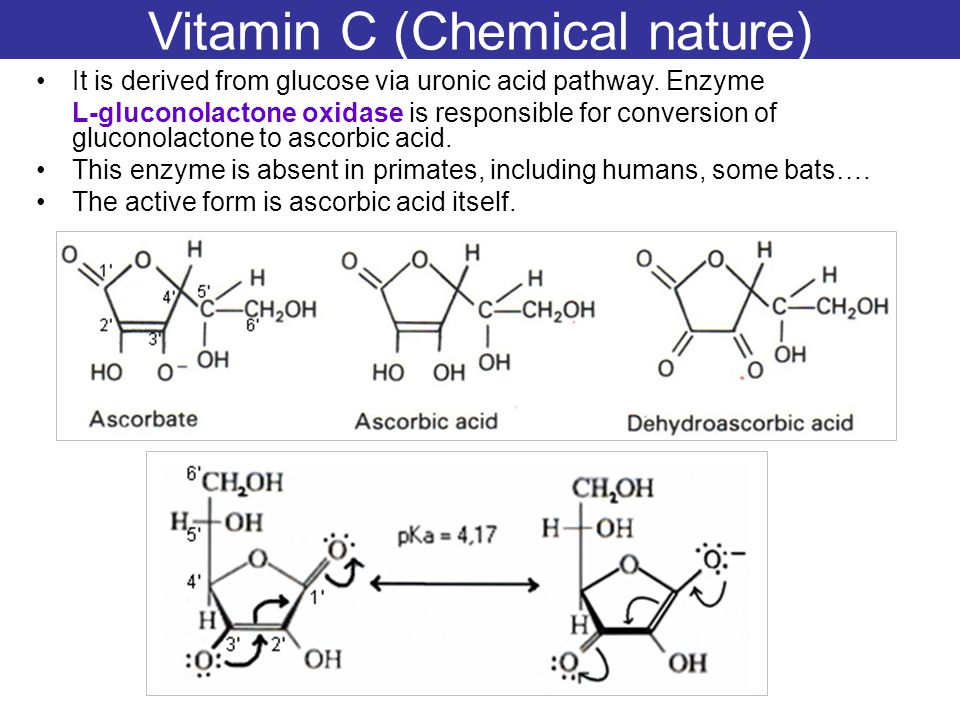 Vitamin C (Chemical nature)