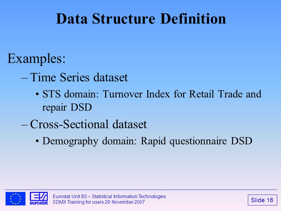 Data Structure Definition