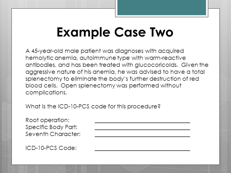 Example Case Two
