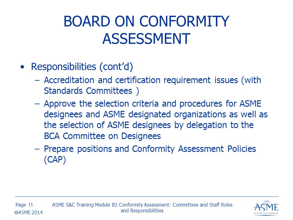 Committee on Conformity Assessment Requirements (CAR)