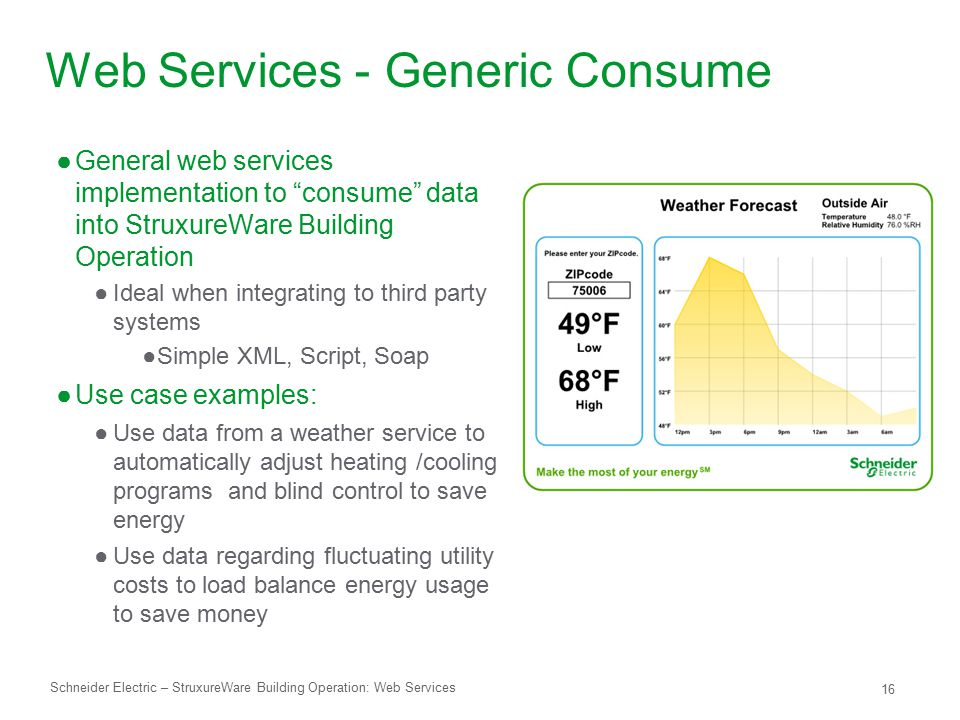 Web Services - Generic Consume