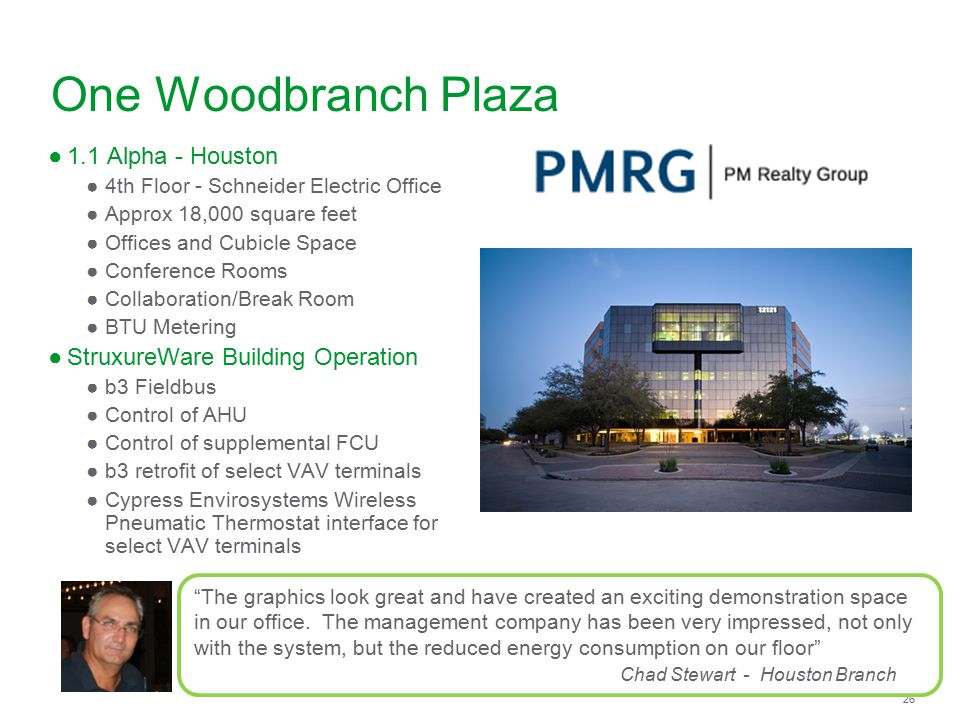 One Woodbranch Plaza 1.1 Alpha - Houston