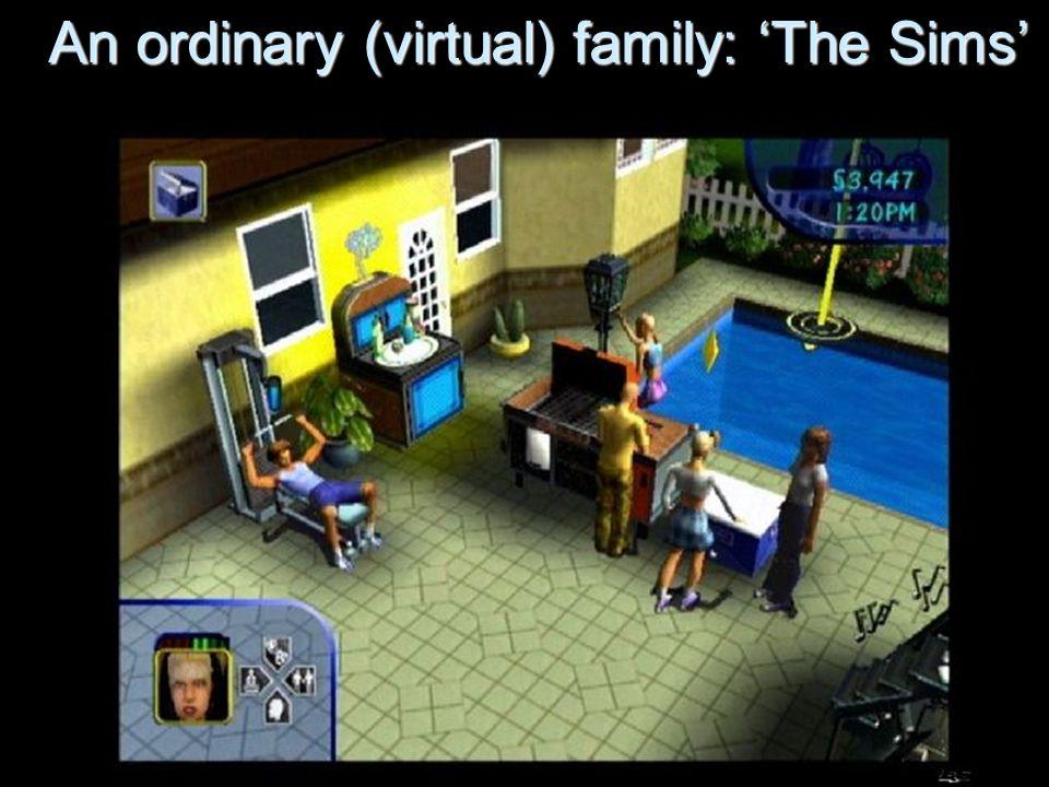 An ordinary (virtual) family: 'The Sims'