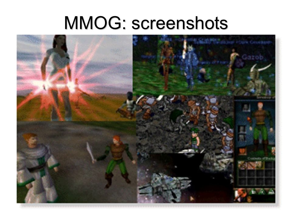 MMOG: screenshots