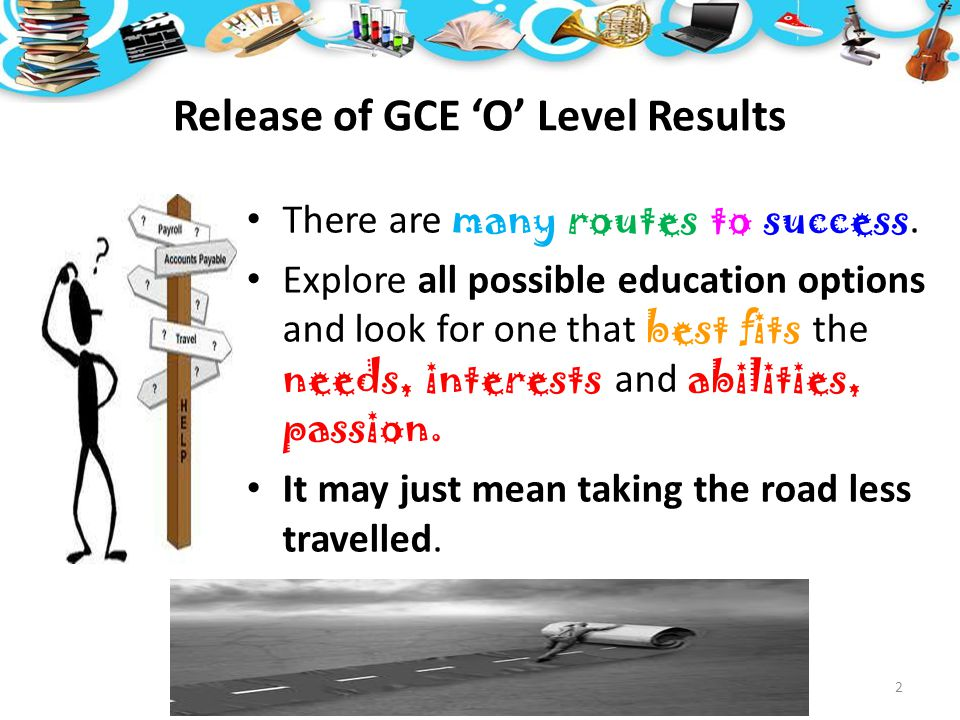 Release of GCE 'O' Level Results
