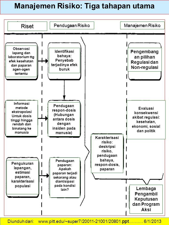 Manajemen Risiko: Tiga tahapan utama