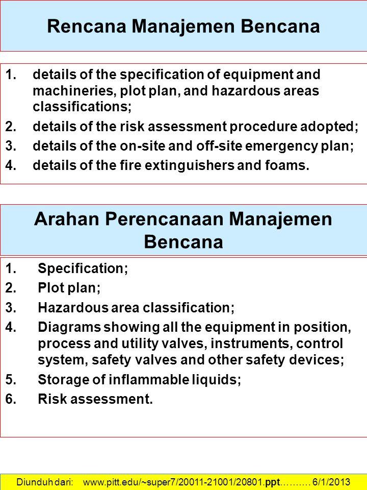 Rencana Manajemen Bencana