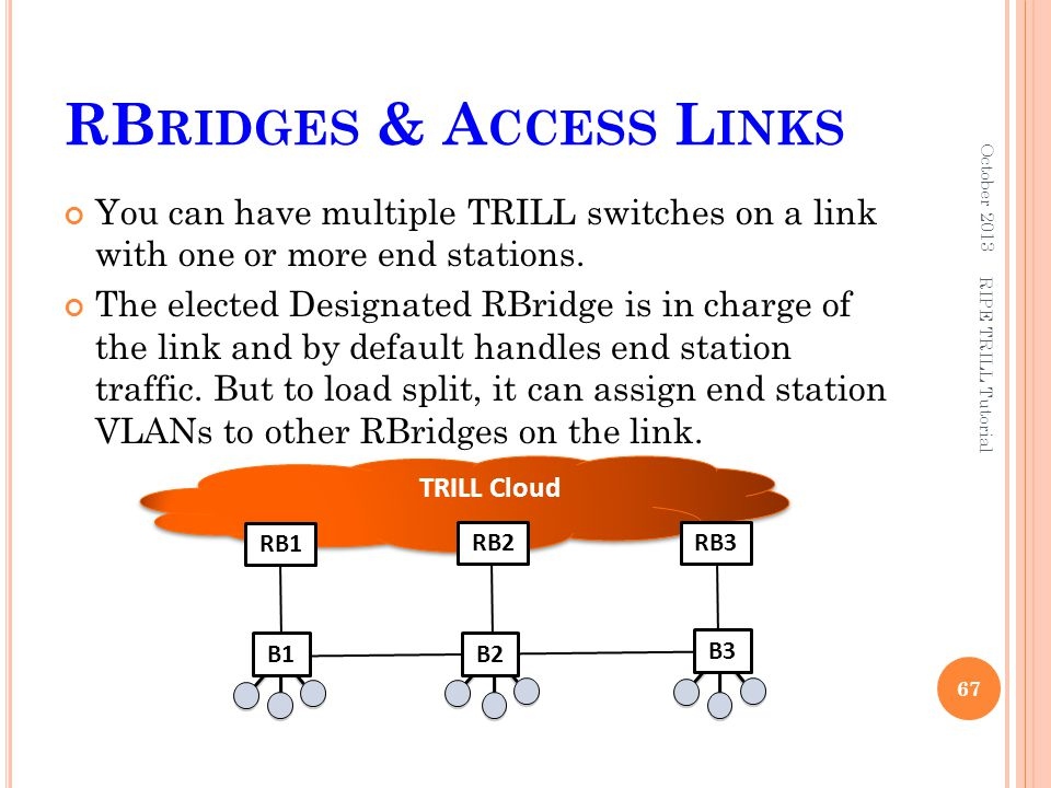RBridges & Access Links