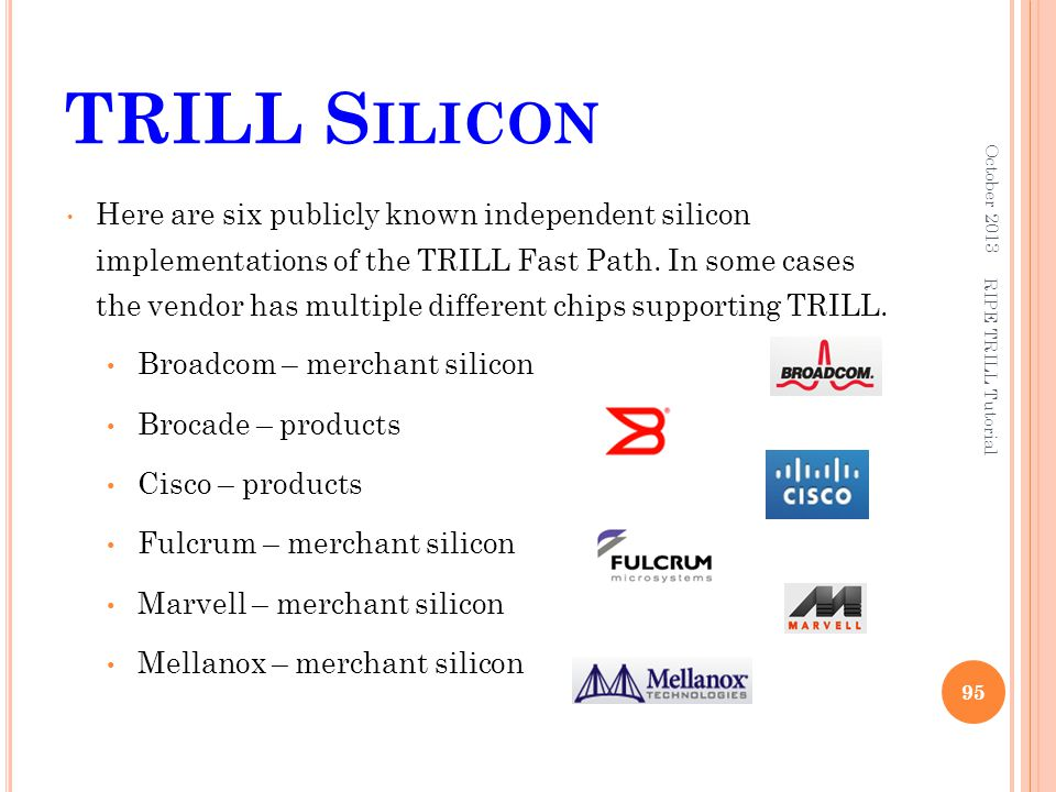 TRILL Silicon October 2013.