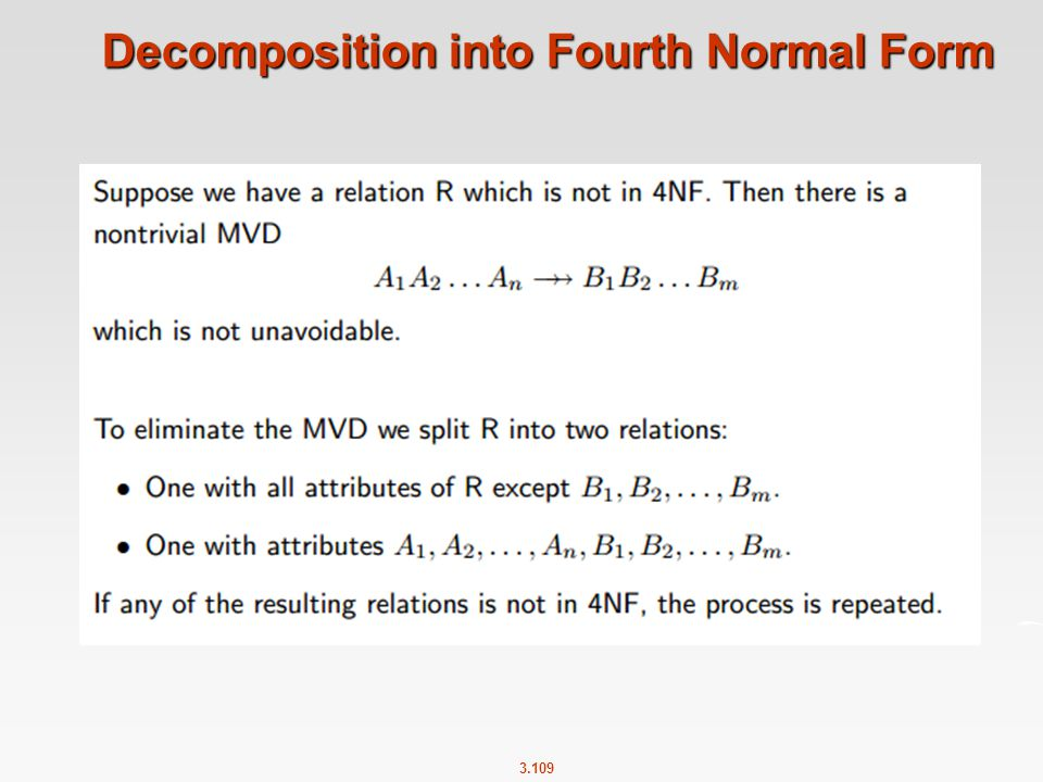 Decomposition into Fourth Normal Form