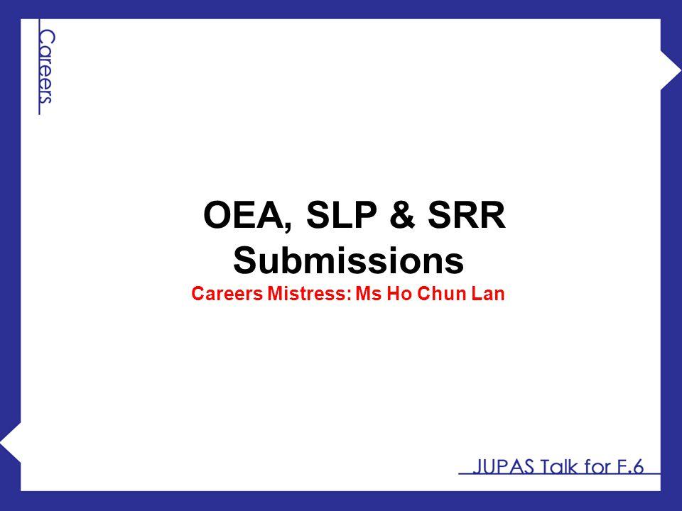 Careers Mistress: Ms Ho Chun Lan