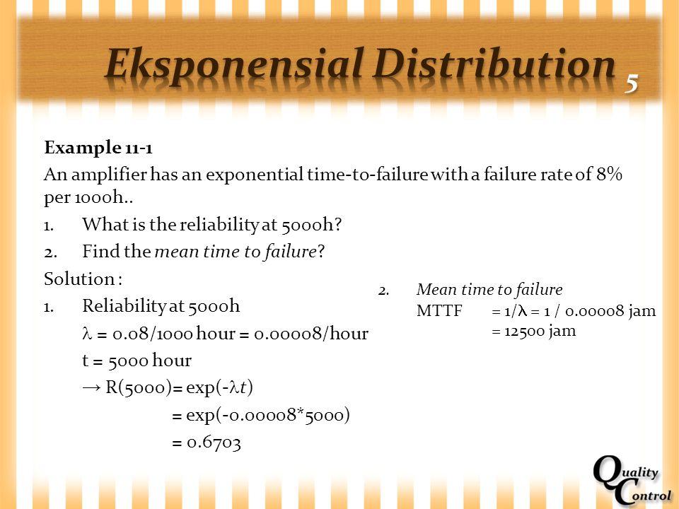 Eksponensial Distribution 5