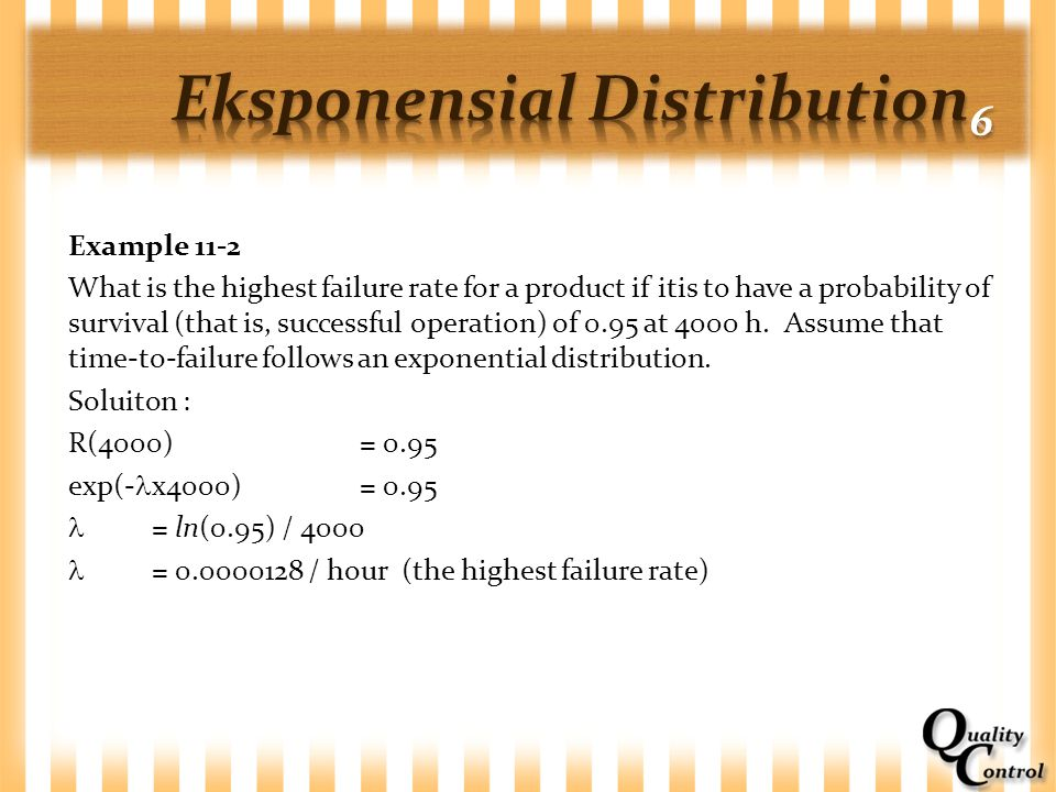 Eksponensial Distribution6