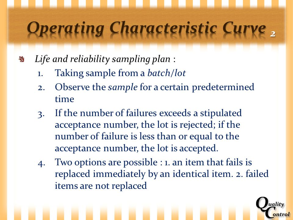 Operating Characteristic Curve 2
