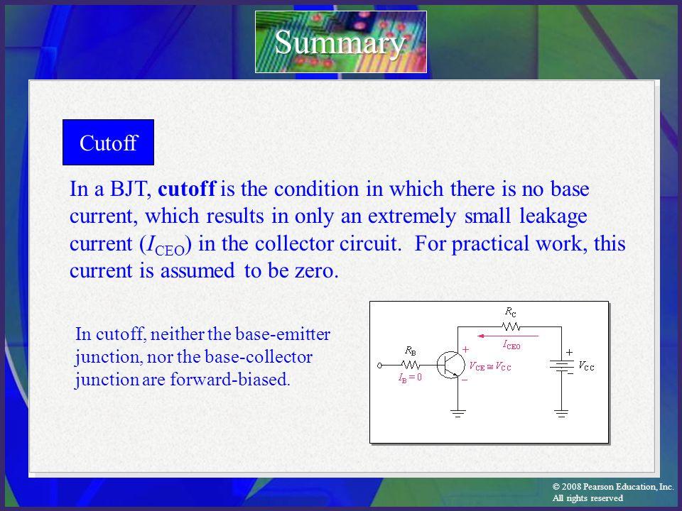 Summary Cutoff.