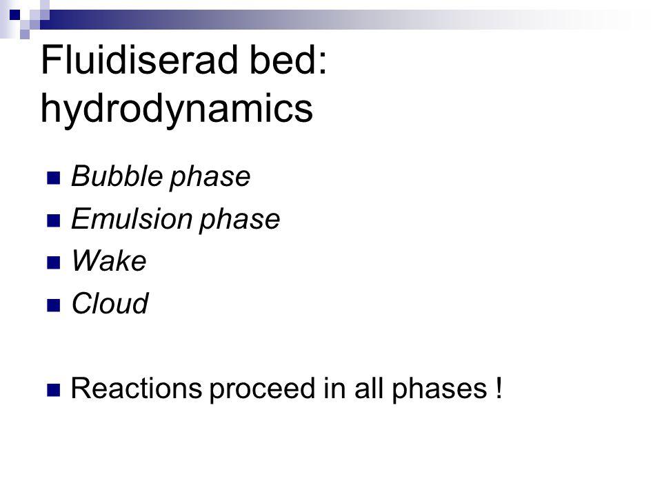 Fluidiserad bed: hydrodynamics