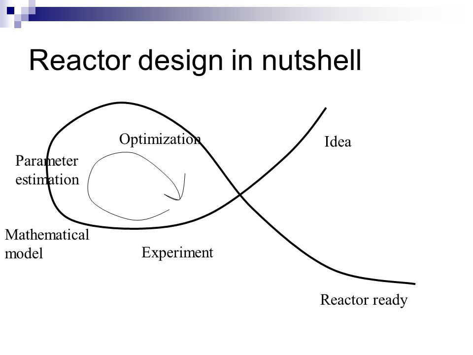 Reactor design in nutshell