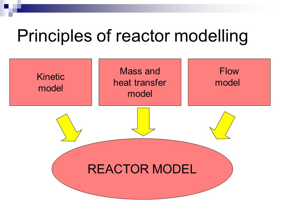 Principles of reactor modelling