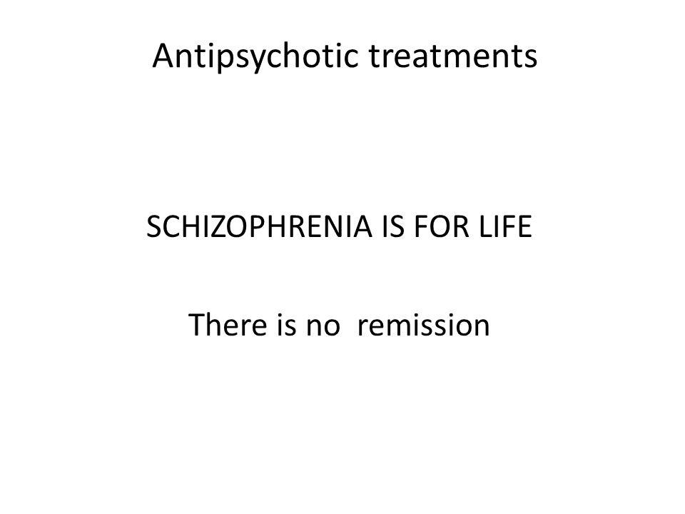 Antipsychotic treatments