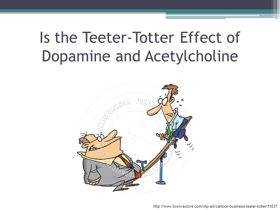 Is the Teeter-Totter Effect of Dopamine and Acetylcholine