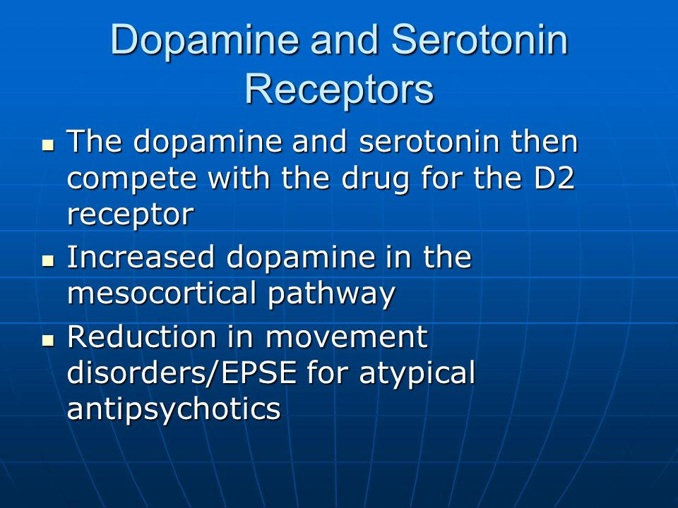Dopamine and Serotonin Receptors