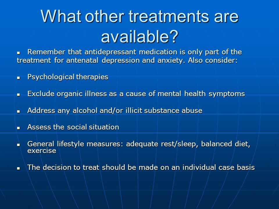 What other treatments are available