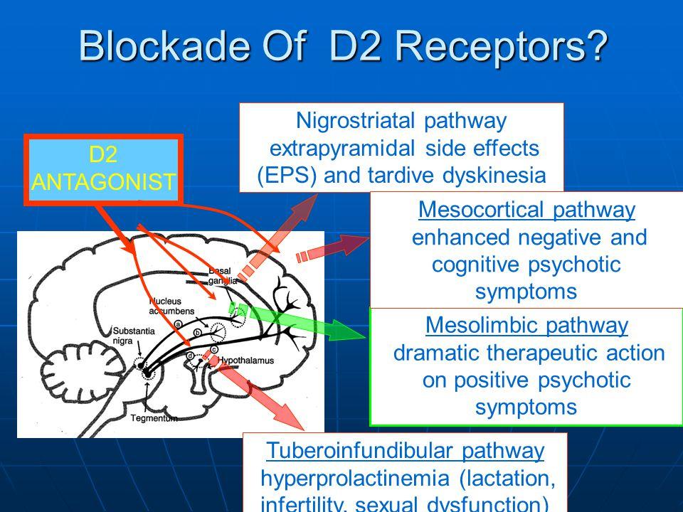 Blockade Of D2 Receptors