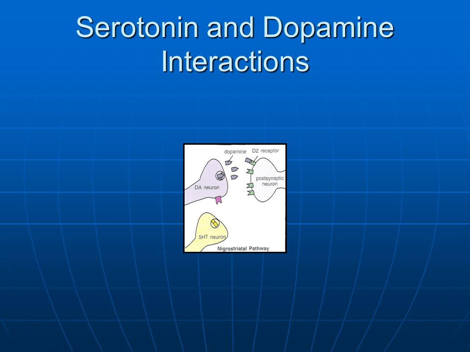 Serotonin and Dopamine Interactions