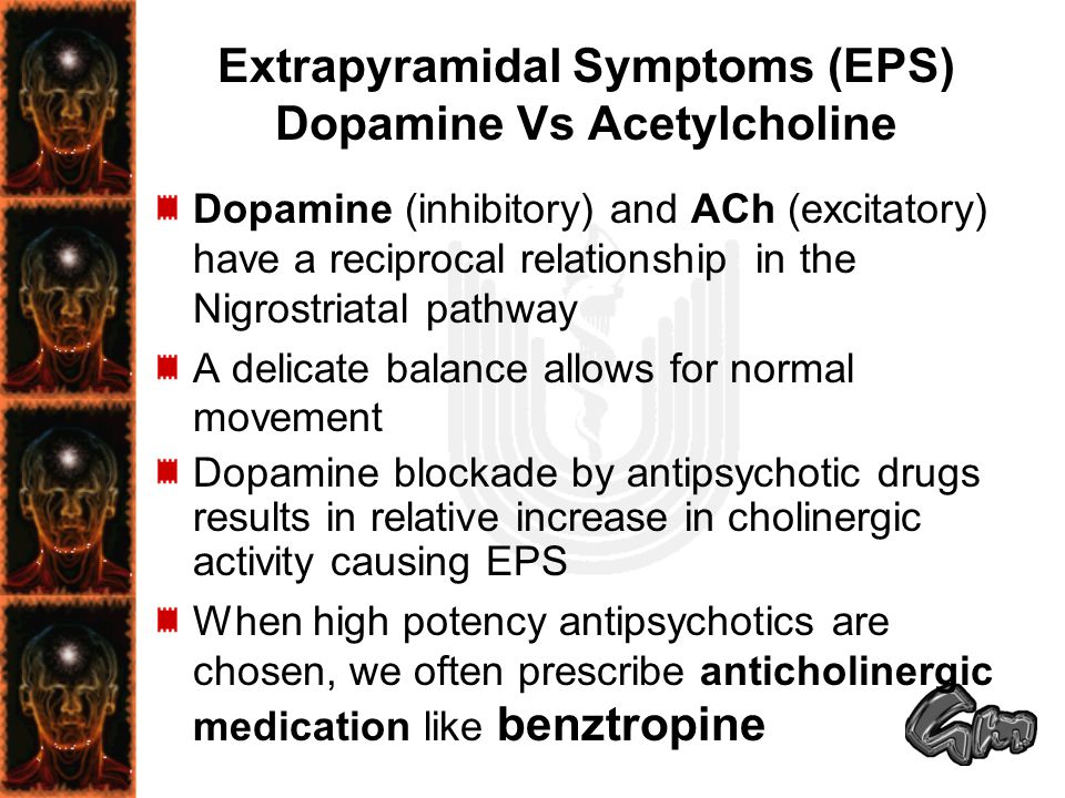 Extrapyramidal Symptoms (EPS) Dopamine Vs Acetylcholine