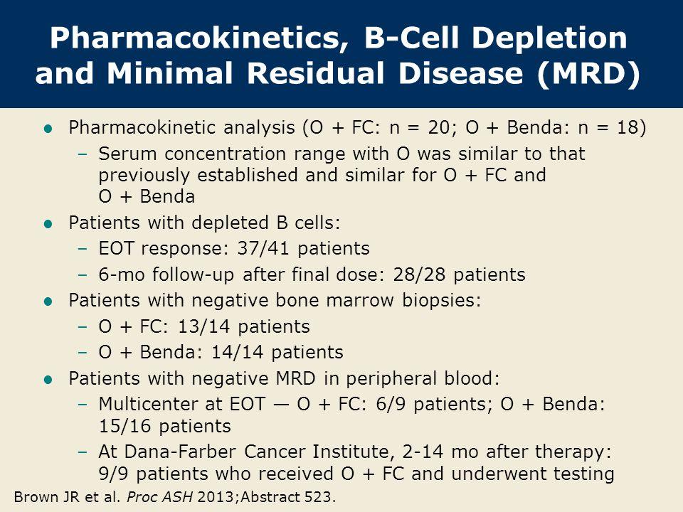 Pharmacokinetics, B-Cell Depletion and Minimal Residual Disease (MRD)