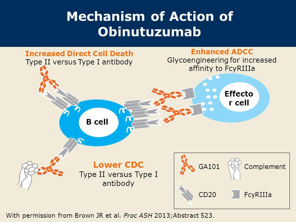 Mechanism of Action of Obinutuzumab