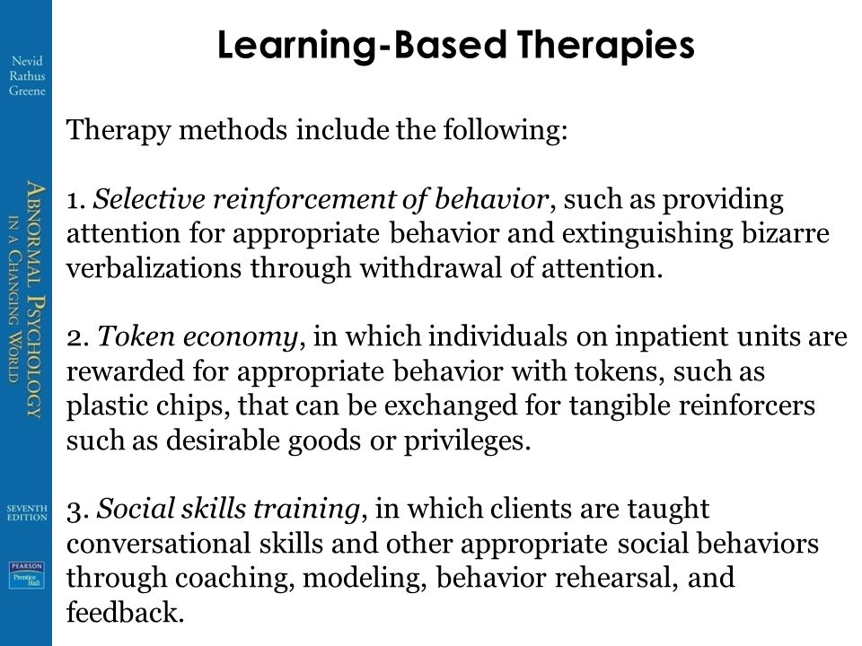 Learning-Based Therapies