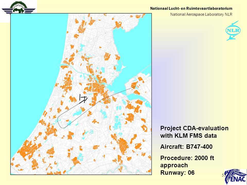 Project CDA-evaluation with KLM FMS data Aircraft: B747-400