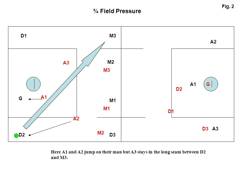¾ Field Pressure Fig. 2 D1 M3 A2 A3 M2 M3 A1 G D2 G A1 M1 M1 D1 A2 D3